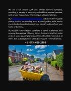 Rubbish Removal Service in Ottawa - Page 2