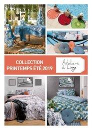 Catalogue général Les Ateliers du Linge Printemps-Été 2019