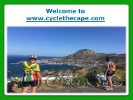 Bicycle Touring in Cape Town