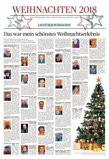 Weihnachten 2018 - Senftenberg/Elbe-Elster