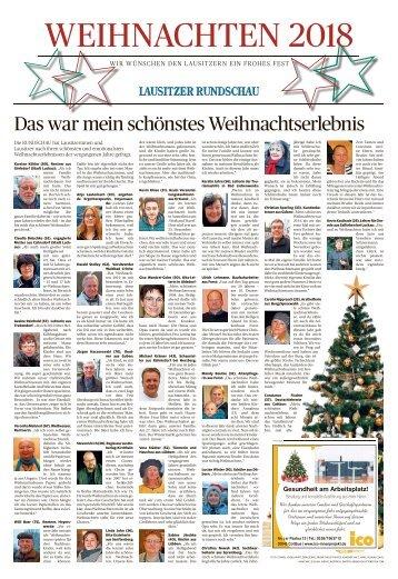 Weihnachten 2018 - Cottbus/Spree-Neiße/Spreewald