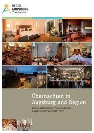 Übernachten in Augsburg und Region