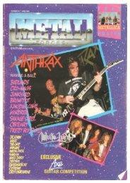 metal forces 40 June 1989