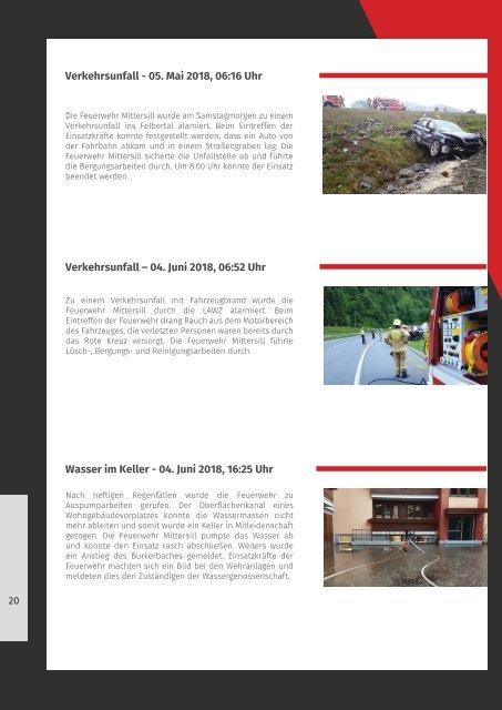Infomagazin der Freiwilligen Feuerwehr Mittersill