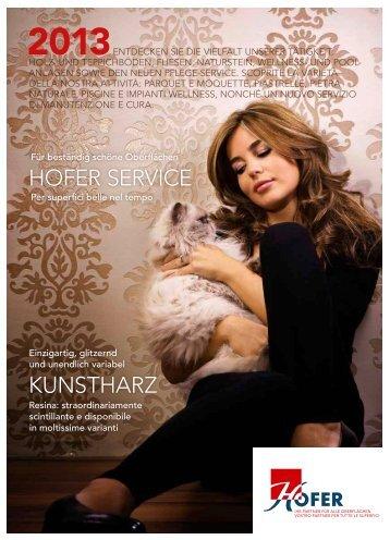 katalog 2013 - Hofer Fliesen Böden