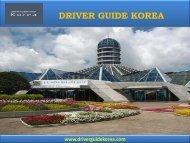 Driver Guide Korea - Korea Travel Guide