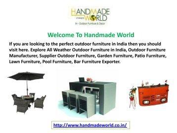 outdoor furniture supplier in Delhi