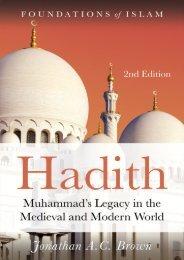 Hadith_Jonathan A.C. Brown