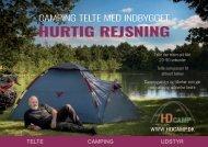Hurtigt rejse telte