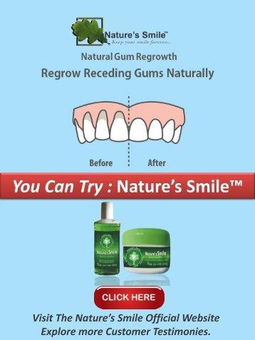 Receding Gum Line Treatment Naturally