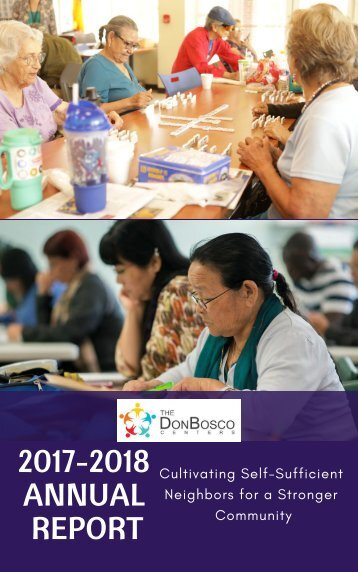Don Bosco Centers, KCMO: 2018 Annual Report