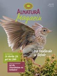 Alnatura Magazin Januar 2019