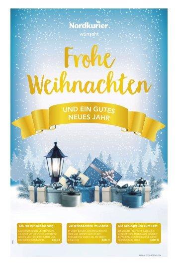 Frohe Weihnachten Mecklenburger Schweiz
