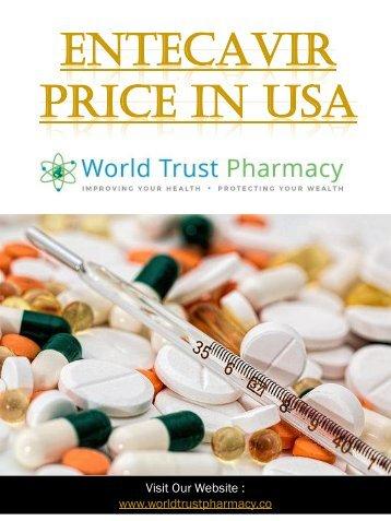 Entecavir Price In USA
