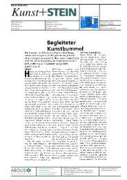 Kunst und Stein - Bad Ragartz