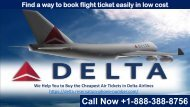Get low cost flight with Delta Airlines Reservation Phone Number 1-888-388-8756