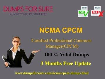 CPCM Dumps
