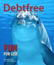 Debtfree Magazine December 2018