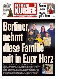 Berliner Kurier 24.12.2018