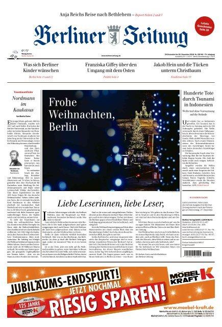 Berliner Zeitung 24122018