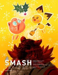 Smash Holidays | MICA Super Smash Bros Club Zine