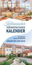 Kulinarischer Kalender Best Western Hotel Erfurt-Apfelstädt