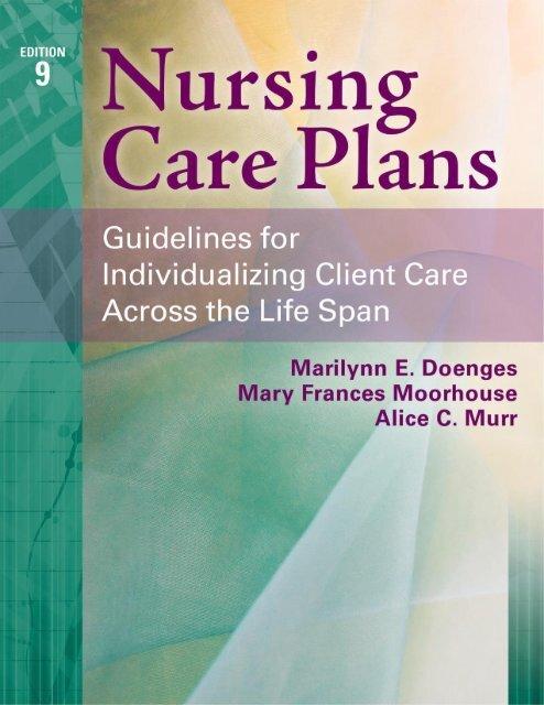 Nursing Care Plans Edition 9 Murr Alice Doenges Marilynn Moorehouse Mary