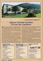 Hotel / Schweiz - Heider Stein Design