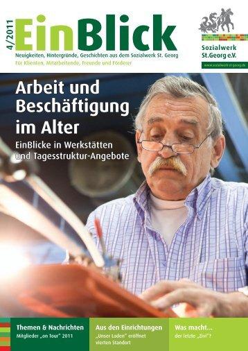 Arbeit und Beschäftigung im Alter - Sozialwerk St. Georg