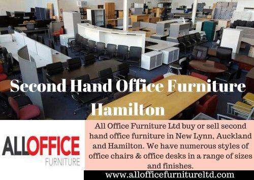 Second Hand Office Furniture Hamilton