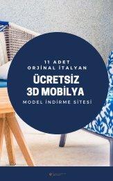 cretsiz 3D Model Veren Orjinal İtalyan Mobilya Siteleri-Can Kuşkon