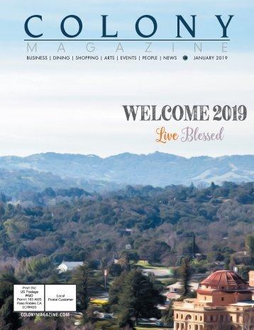 2019 January Colony Magazine