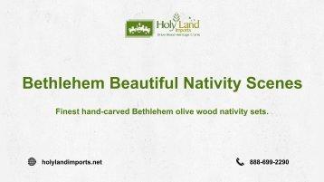 Buy Beautiful Bethlehem Nativity Scenes At Best Price