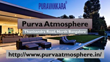 Purva Atmosphere Bangalore