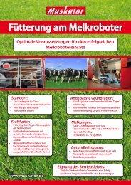 Fütterung am Melkroboter Standort - Muskator-Werke GmbH