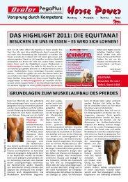 Das Highlight 2011: Die Equitana! - Muskator-Werke GmbH