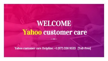 yahoo customer care support