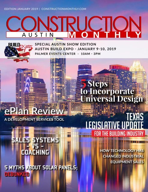 Austin 2019 Construction Monthly