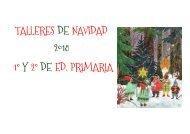 TALLERES DE NAVIDAD 2018