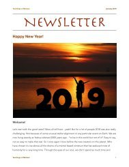 Newsletter - Jan. 2019