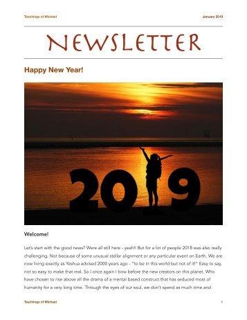 Newsletter - Jan. 2019