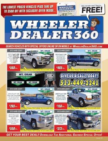 Wheeler Dealer 360 Issue 52, 2018