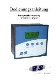 Pumpwerksteuerung - R+S Group Home