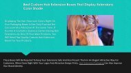 Best Custom Hair Extension Boxes That Display Extensions