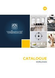 Velleman Clocks Catalogue - FR