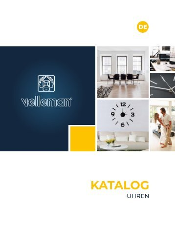 Velleman Clocks Catalogue - DE