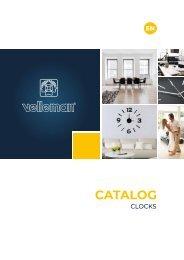 Velleman Clocks Catalogue - EN