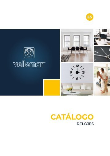 Velleman Clocks Catalogue - ES