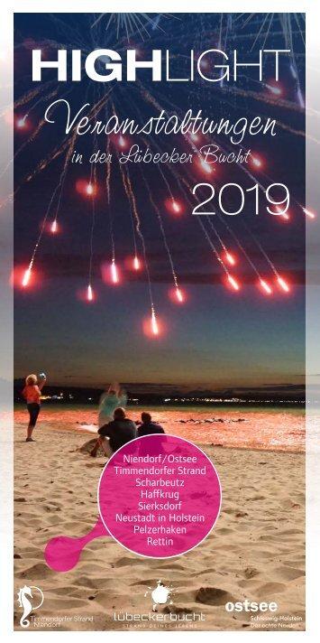 Timmendorfer Strand und die Lübecker Bucht - Highlights 2019