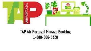 TAP Air Portugal Manage Booking 1-888-206-5328